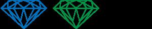 Sapphire, Emerald, and Diamond